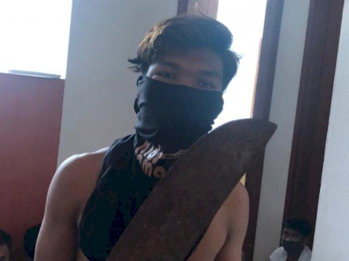 Bawa Senjata Tajam saat Demonstrasi, 3 Pelajar Diamankan Polisi, Berikut Identitasnya