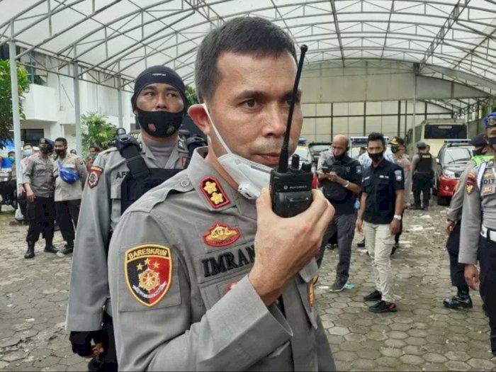 Aksi Demo Tolak UU Ciptaker di Padang Ricuh, Polisi: Remaja Dibayar Rp50 ribu Per Orang