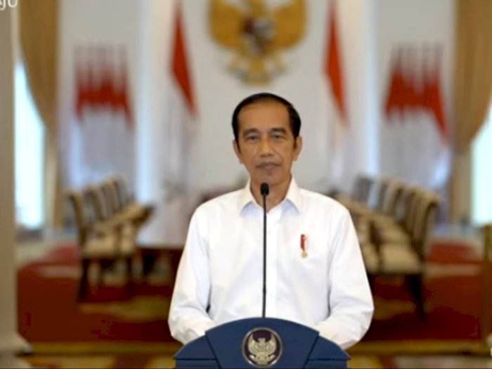 Demo di Mana-mana, Jokowi Beralasan UU Cipta Kerja Diperlukan Demi Atasi Pengangguran