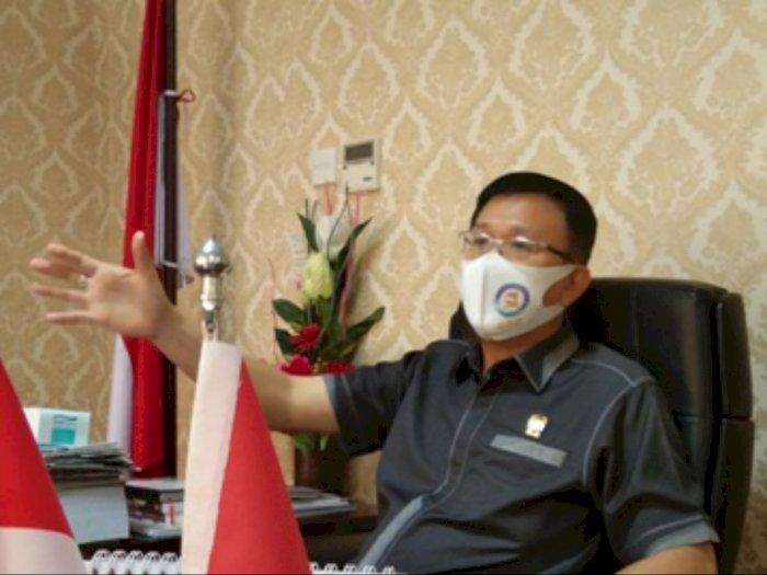 Viral Video Pelemparan dari Gedung DPRD Medan, Ketua DPRD Medan Marah