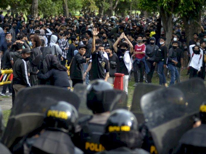 Banyak Jurnalis Jadi Sasaran Amukan Polisi saat Demo, Mabes Polri: Segera Dikroscek