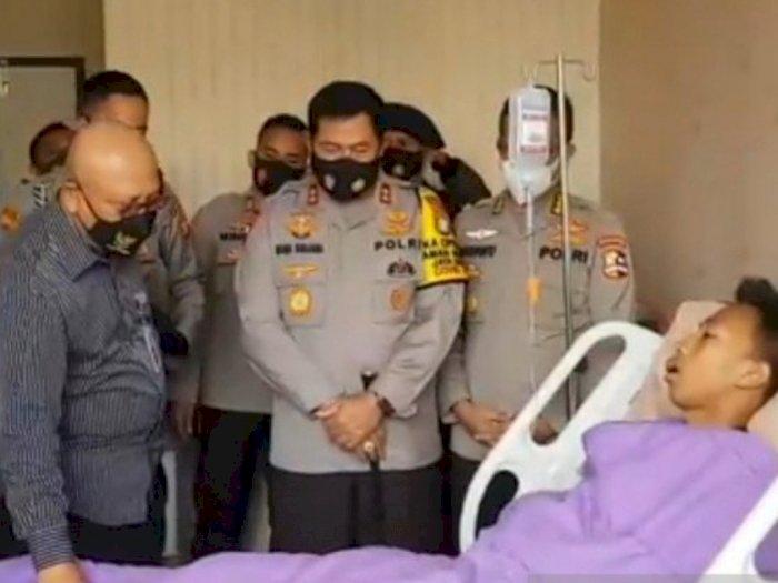28 Polisi dan 3 TNI Dirawat, Pasca Demo Omnibus Law Berujung Ricuh