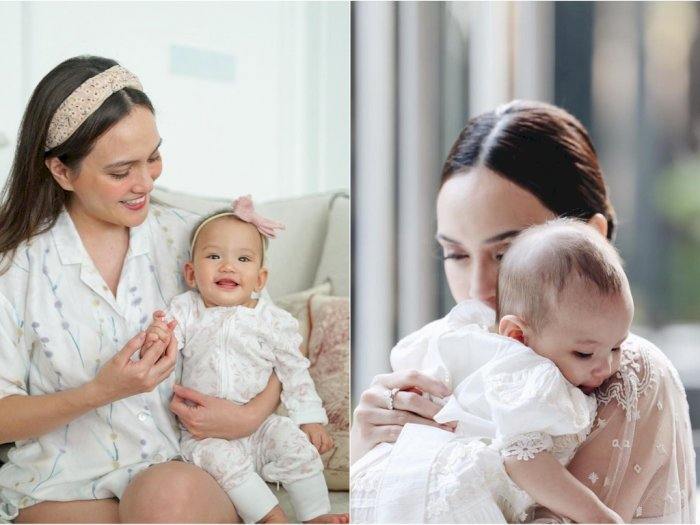 Putrinya Ucapkan Kata 'Mama' untuk Pertama Kalinya, Shandy Aulia: Hatiku Meleleh