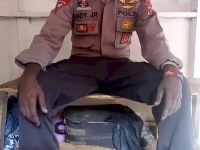 Viral Video Anggotanya Gabung OPM, Polda Papua: Hoaks, Seragam Polri Itu Dipinjam!