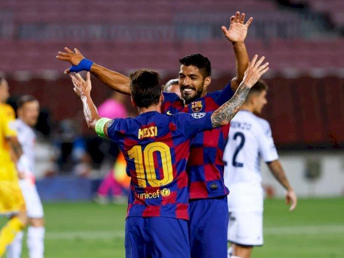 Suarez Mengatakan Messi akan Tinggal Jika Dewan Baru Tiba di Barcelona