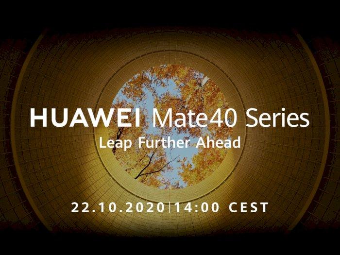 Huawei Bakal Umumkan Kehadiran Mate 40 Series Tanggal 22 Oktober Nanti