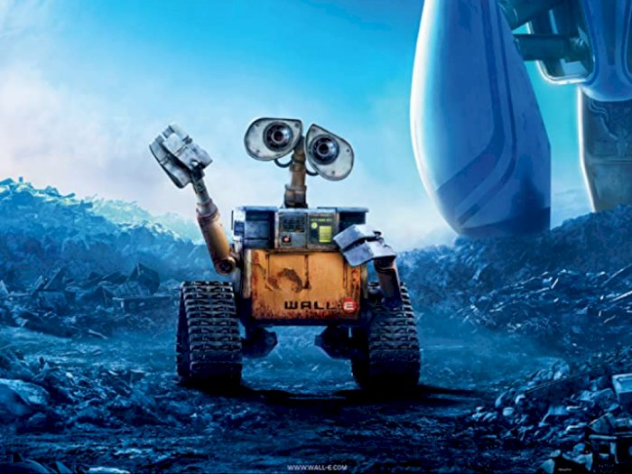 "Sinopsis ""WALL-E (2008)"" - Perjalanan Luar Angkasa Robot Pengumpul Sampah"