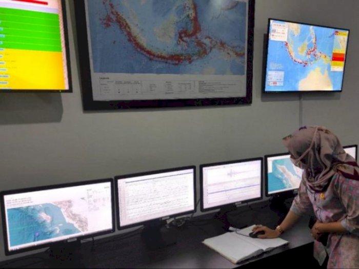 Ada 40 Kali Gempa yang Terjadi di Sumbagut pada Pekan Pertama Oktober