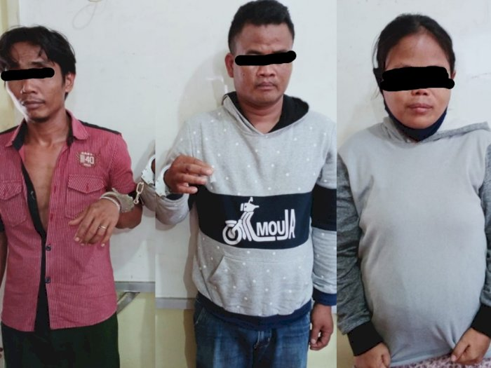 Beli Sabu dari Seorang Ibu Hamil, Dua Pria Kuli Bangunan di Deli Serdang Disergap Polisi