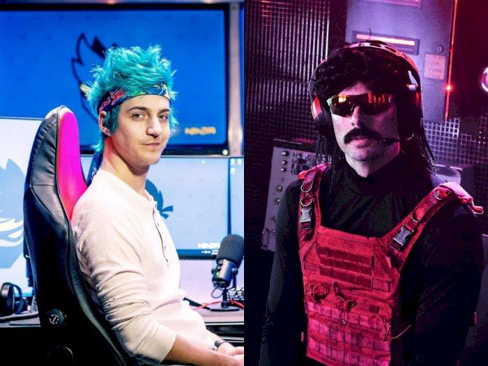 Ninja Sebut Dr Disrespect Sepertinya Tahu Alasan Dirinya Dibanned dari Twitch
