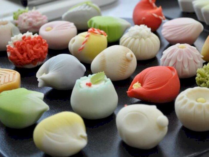 Wagashi, Makanan Manis Tradisional Jepang Teman Minum Teh Hijau