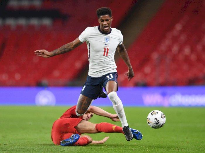Cetak Gol untuk Inggris, Rashford Samai Rekor Rooney dan Beckham