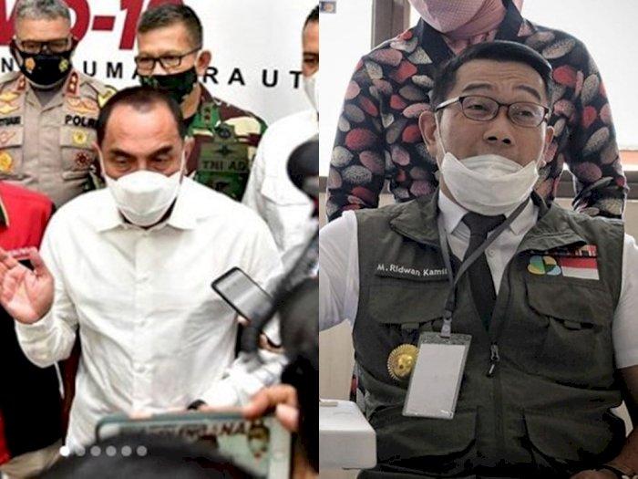 Edy Rahmayadi Tolak Permintaan Buruh Surati Jokowi: Lain Ridwan Kamil, Lain Saya