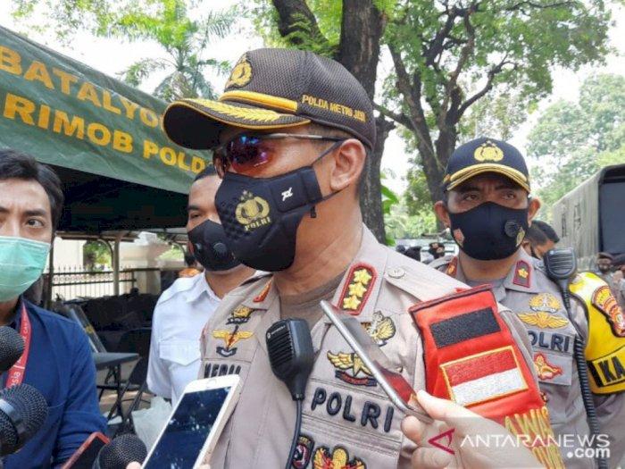 Pasca Amankan Demo UU Cipta Kerja, 1.000 Personel Polisi Jalani Rapid Test