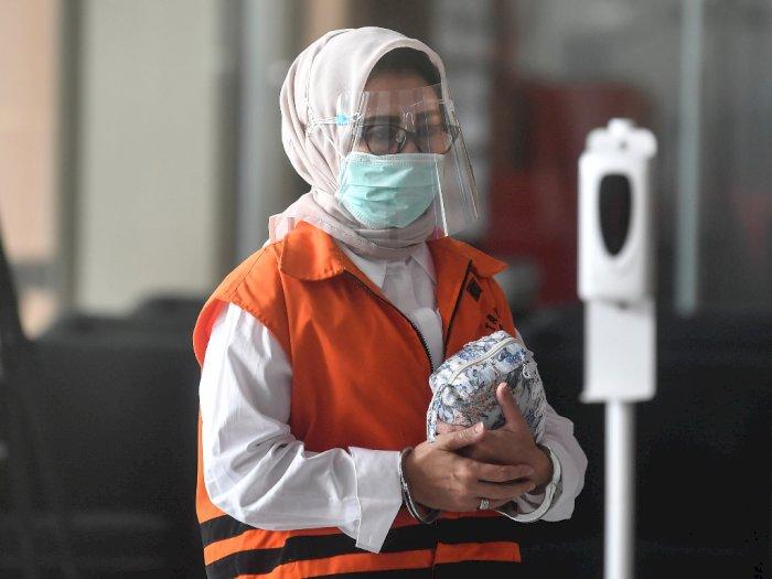 FOTO: Pemeriksaan Ketua DPRD Kutai Timur Nonaktif