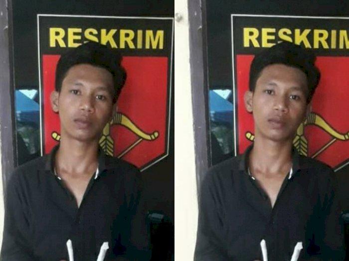 Mau Isap Ganja di Dalam Rumah, Eh Pria Ini Keburu Diciduk Polisi Tanjung Morawa