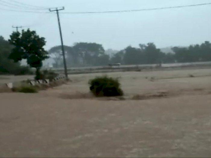 Banjir di Garut Akibat Luapan Sungai, Warga Segera Dievakuasi