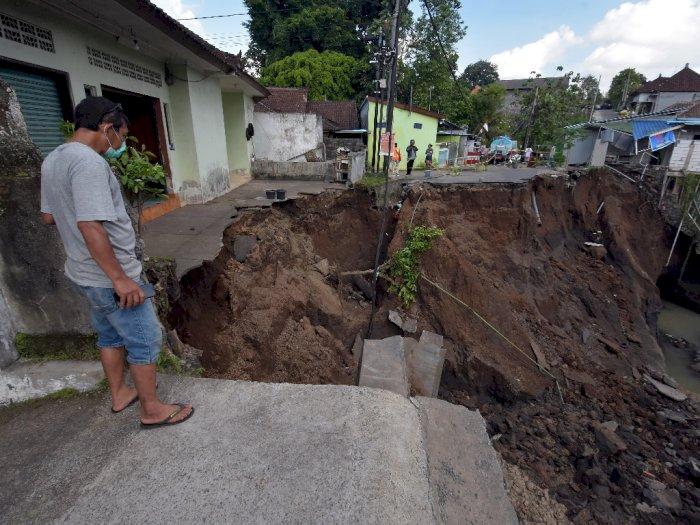 FOTO: Bencana Alam Akibat Hujan Deras di Tabanan