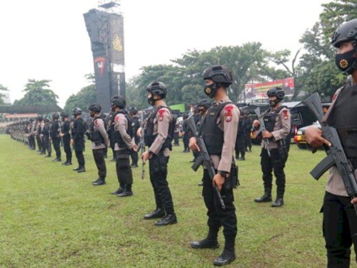 Antisipasi Demo Tolak Omnibus Law, 400 Personel Brimob Sumut Bergerak ke Jakarta