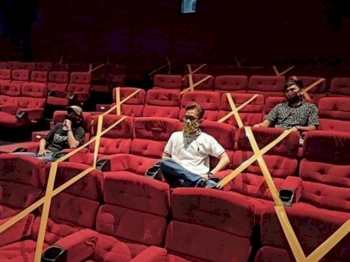 Bioskop Diizinkan Beroperasi Lagi Selama PSBB Transisi, Ini Aturannya