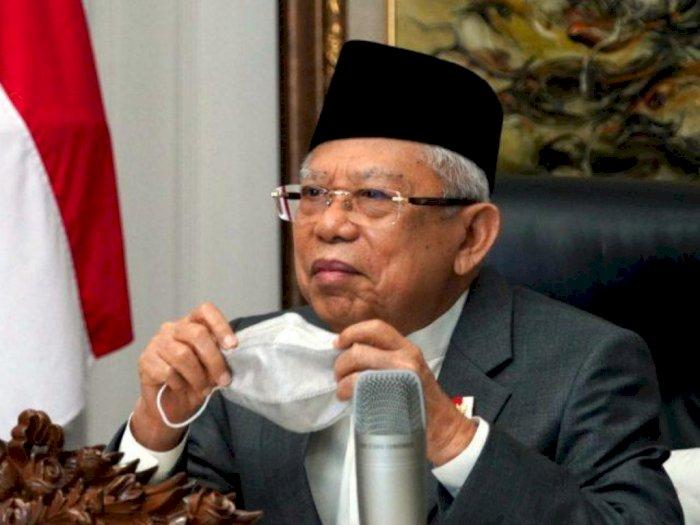 Wapres Ma'ruf Minta Ormas Islam yang Tolak Omnibus Law Beri Saran ke Pemerintah