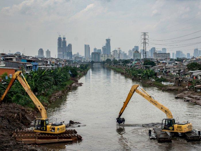 FOTO: Antisipasi Banjir di Jakarta