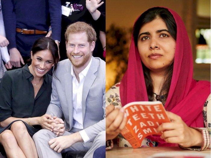Meghan Markle dan Pangeran Harry Diskusi dengan Malala, Apa yang Dibahas?