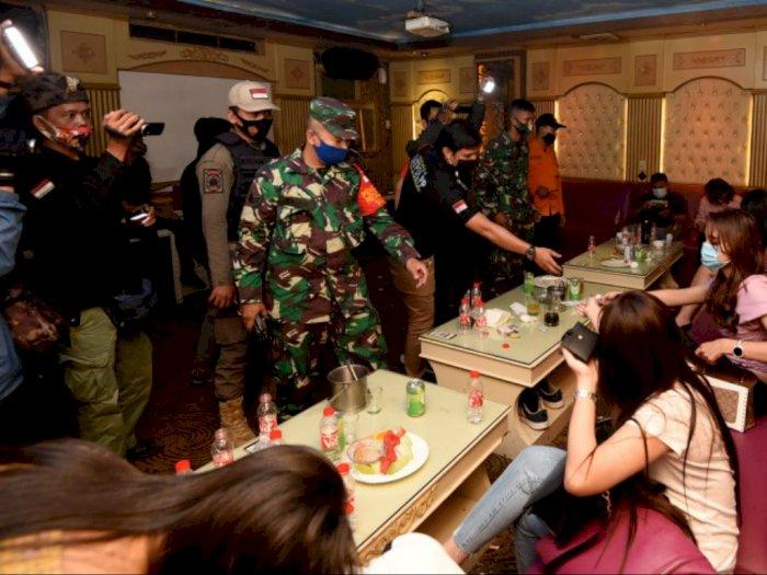 Langgar Protokol Kesehatan, Sejumlah Tempat Hiburan Malam di Medan Ditegur Satgas Covid-19