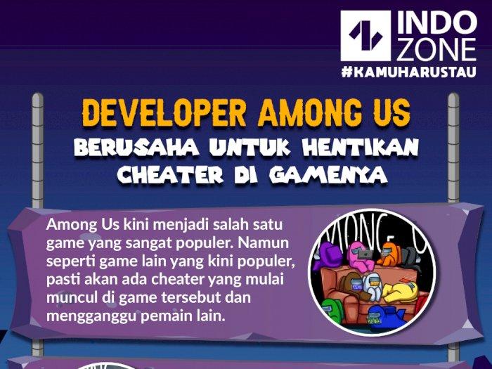 Developer Among Us Kini Berusaha untuk Hentikan Cheater di Gamenya