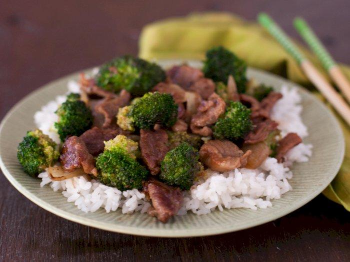 Menu Makan Malam Nanti, Daging Slice Masak Brokoli