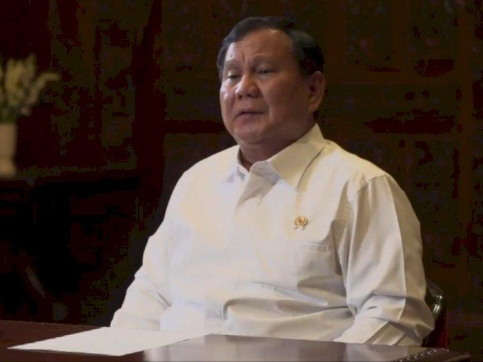 Prabowo Sebut Kericuhan Demo Tolak UU Cipta Kerja Dibiayai Asing