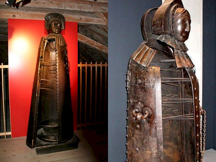 Iron Maiden, Alat Penyiksaan Abad Pertengahan di Eropa