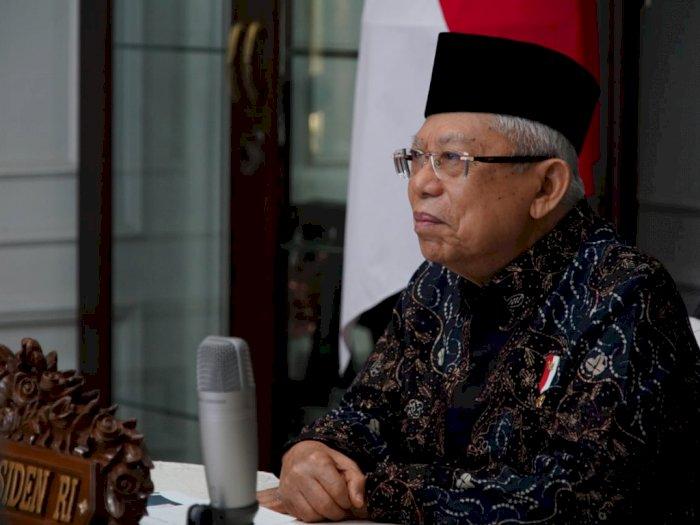 Ma'ruf Amin Minta Pihak yang Keberatan dengan UU Cipta Kerja Jangan Buat Gaduh