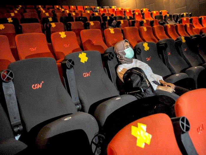 Berisiko Tinggi Terpapar, Setelah dari Bioskop Disarankan Isolasi Mandiri 14 Hari