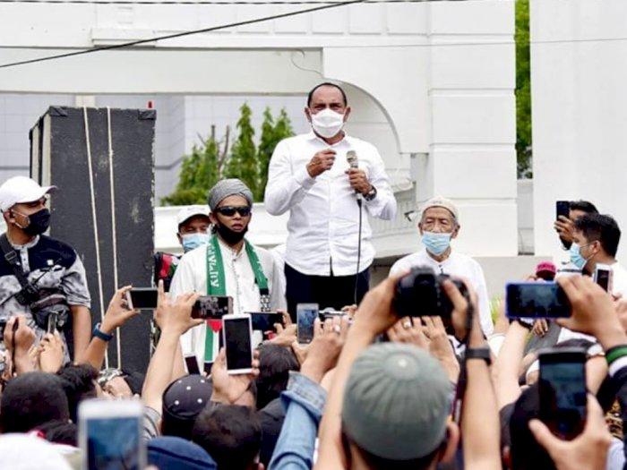 Jumpai Massa Aksi, Edy: Jika Omnibus Law Sengsarakan Rakyat, Saya Hadapi Presiden