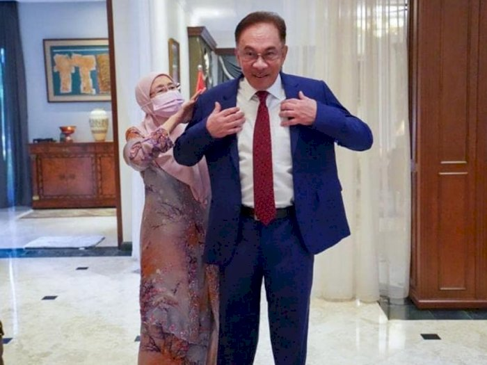 Selangkah Menuju Kursi PM Malaysia, Ini Doa Sang Istri Saat Anwar Ibrahim Mau Bertemu Raja