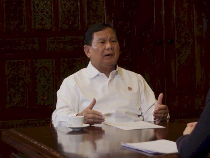 Soal Aksi Demo Tolak UU Cipta Kerja, Prabowo: Karena Belum Baca dan Banyak Hoaks