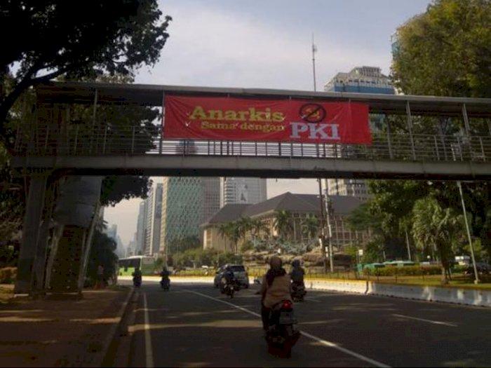 Muncul Spanduk 'Anarkis sama dengan PKI', Padahal Anarkis Berbeda dari Komunis