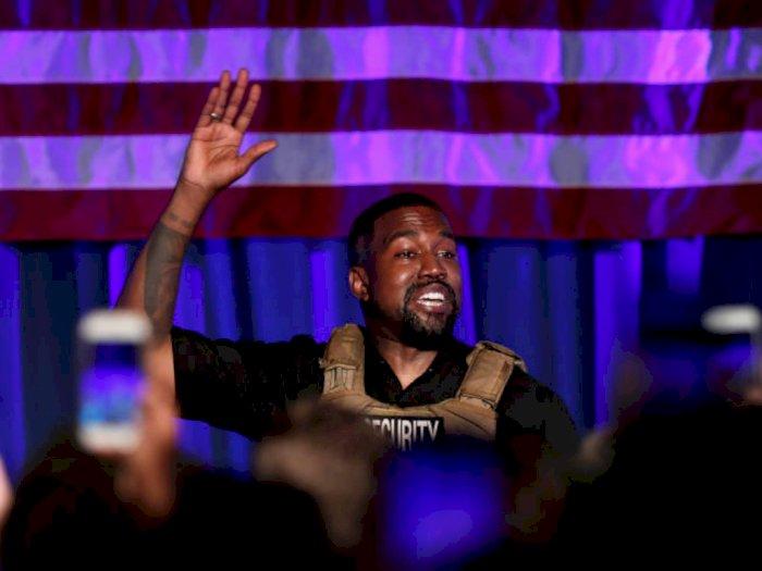 Calonkan Diri Sebagai Presiden AS, Kanye West Rilis Video Kampanye Pertama