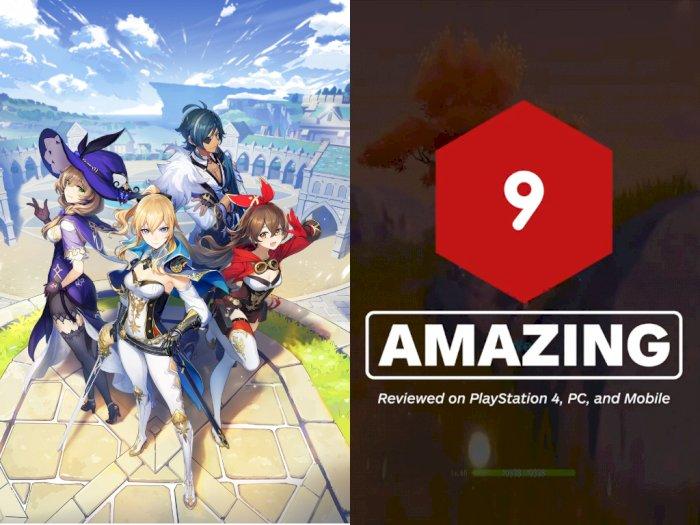 IGN Beri Skor 9/10 untuk Game RPG Genshin Impact Buatan miHoYo!