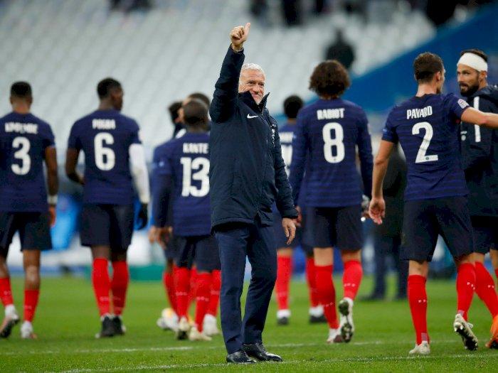 Didier Deschamps: Tak Ada Jaminan Bagi Antoine Griezmann Berada di Timnas Prancis