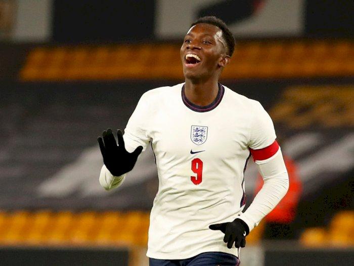 Pecahkan Rekor, Eddie Nketiah Jadi Pencetak Gol Terbanyak Tim Inggris U-21