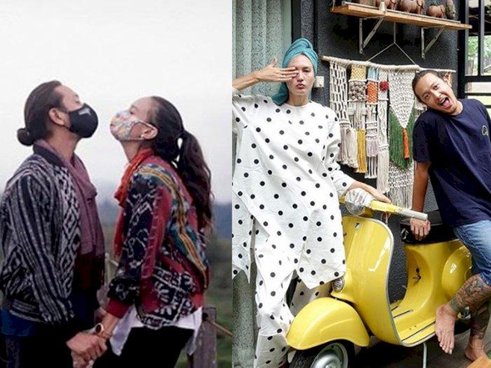 Intip Kebersamaan Dimas Anggara dan Nadine Chandrawinata, Pasangan Serasi Hobi Petualangan