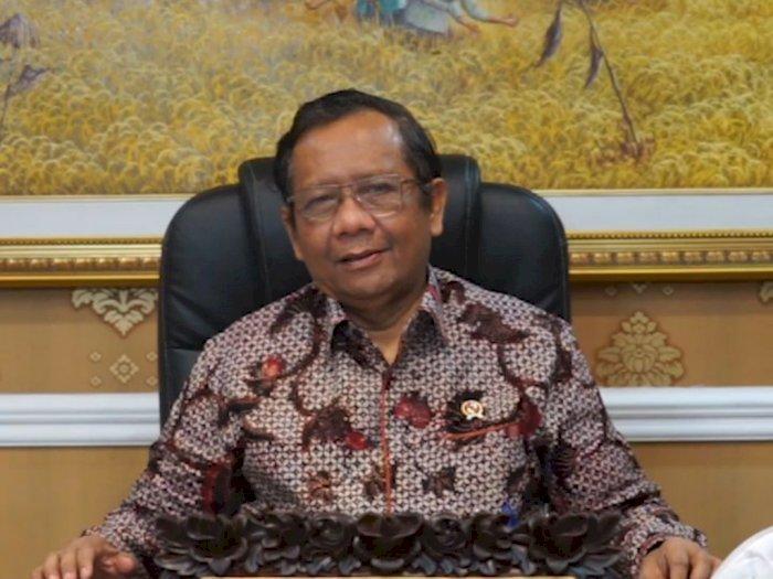 Jawab Andi Arief, Mahfud MD: Pemerintah Tak Pernah Sebut SBY Jadi Dalang Demo