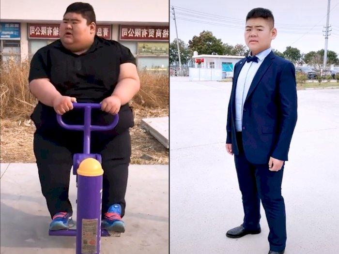 Keren! Pria ini Berhasil Turunkan 210 Kg Berat Badannya, Bikin Netizen Melongo