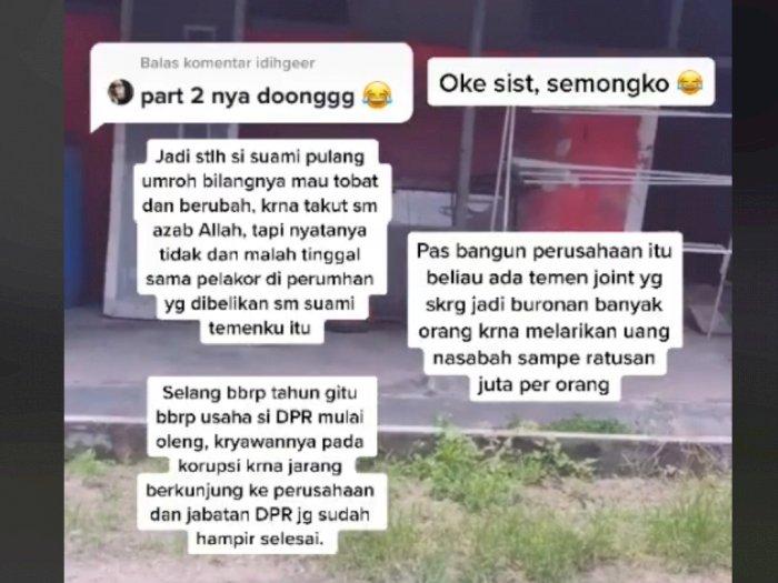 Suami Jadi Anggota DPR Doyan Selingkuh, Sikap Istrinya Bikin Netizen Salut