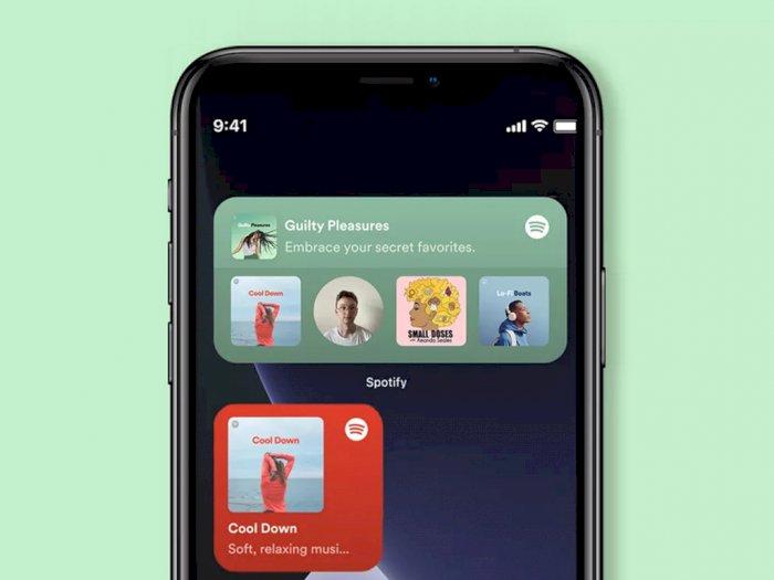 Spotify Kini Miliki Widget Sendiri untuk Sistem Operasi iOS 14!