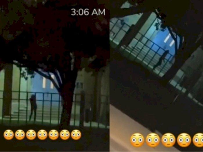 Hiii Serem! Ada Sosok Misterius Nari-nari Tengah Malam, Videonya Viral di TikTok