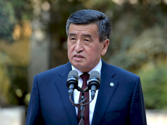 Cegah Terjadi Bentrokan, Presiden Kyrgyzstan Jeenbekov Mundur Pasca Kerusuhan