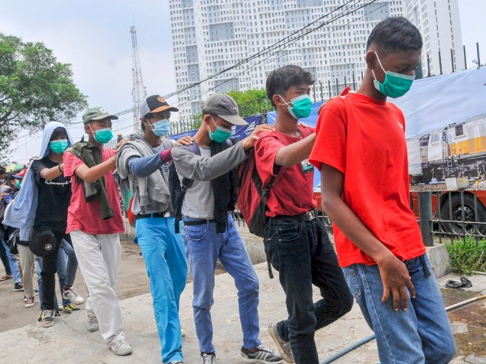 Terkait Eksploitasi Anak di Aksi Demo UU Cipta Kerja, KPAI Minta Aparat Segera Usut Tuntas